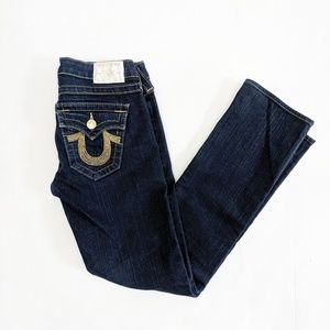 True religion jeans BILLY gold chain jeans size 26